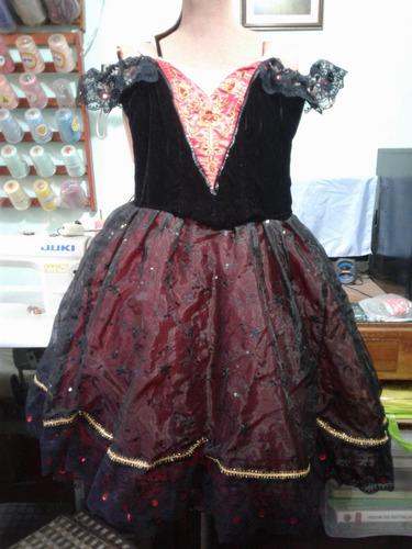Vestido De Ballet Estilo Español