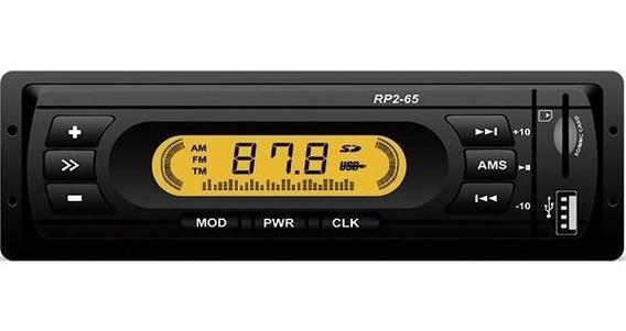 Radio Mp3 Usb/sd/mmc Fm Rp2-65 Loud