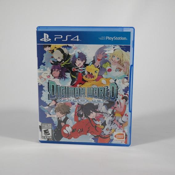 Jogos Ps4 Digimon World: Next Order Usado Perfeito