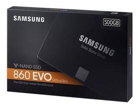 Hd Ssd 500gb Samsung 860 Evo Sata3 V-nand 2.5 Pol. 550mb/s