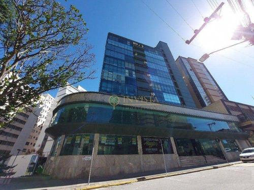 Sala Comercial - 22,95 M² - Centro - Florianópolis/sc - Sa0860