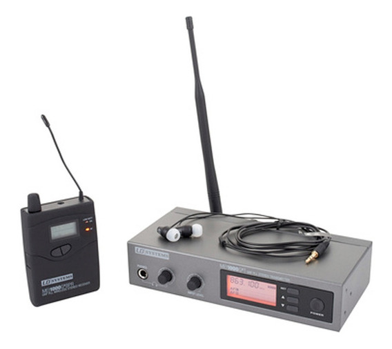Monitor Sennheiser Shure Não#in Ear Mei 1000 G2 Ld Systems