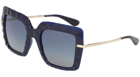 Dolce & Gabbana Dg6111 30944l 51 - Azul/azul Gradiente