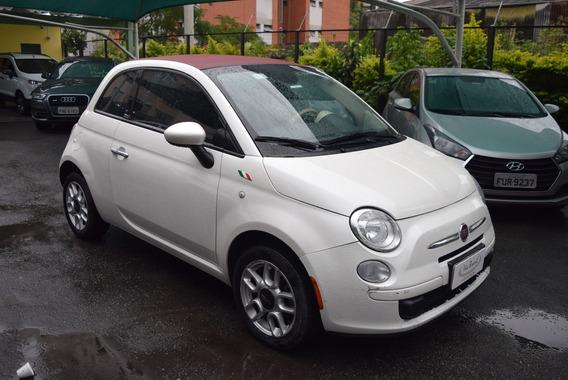 Fiat 500 Cabio (conversível). Única Dona. Oportunidade.
