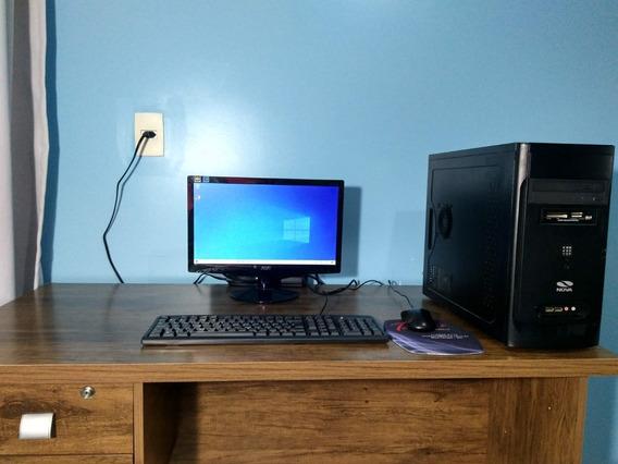 Computador Desktop Completo Para Trabalhos Escolares (usado)