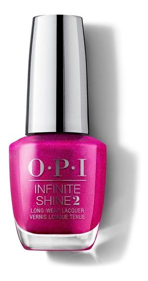 Esmalte Opi Infinite Shine Sin Uv Led: Flashbulb Fuchsia