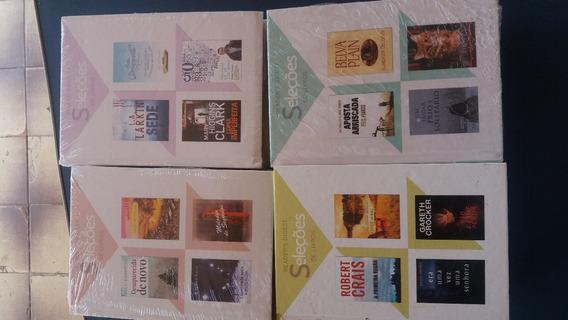 Lote 99-livro Seleções Readers Digest (4títulos Cada) Novo
