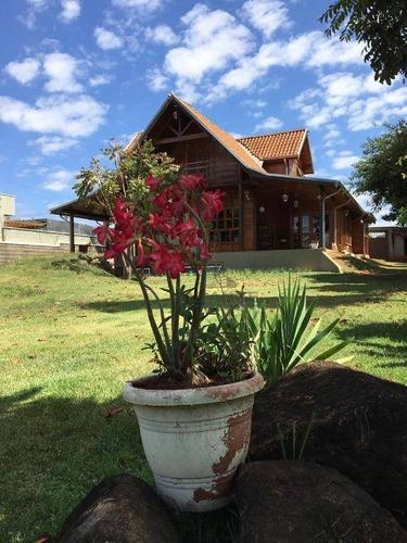 Chácara Com 4 Dormitórios, 3100 M² - Venda Por R$ 1.800.000,00 Ou Aluguel Por R$ 9.500,00/mês - Saltinho - Paulínia/sp - Ch0423