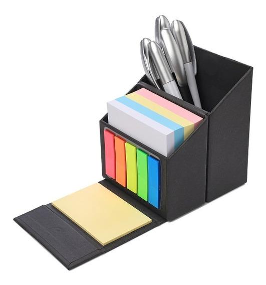 Set Escritorio Porta Taco Papel Portalápices Notas Adhesivas