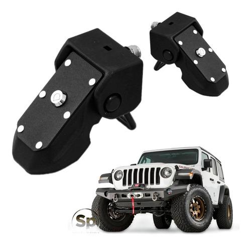 Seguro Cofre Laterales Jeep Jl 2019/2021 Gladiador Wrangler