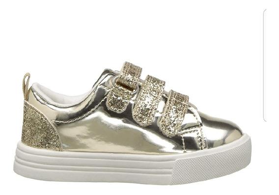 Zapatos Infantiles Oshkosh Dorados