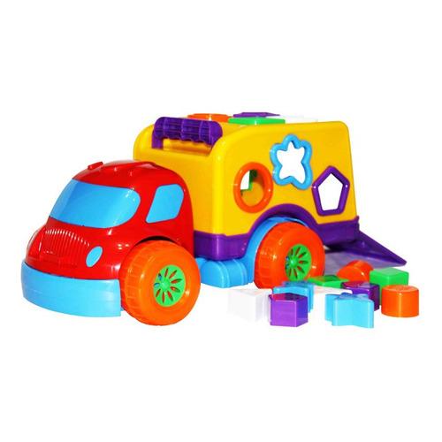 Caminhão Didatico Robustus Baby Diver Toys