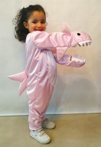 Disfraz De Baby Shark Tiburon Excelente Calidad Mercado Libre