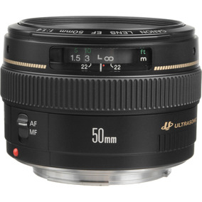 Lente Canon Ef 50mm F/1.4 Usm - Loja Platinum