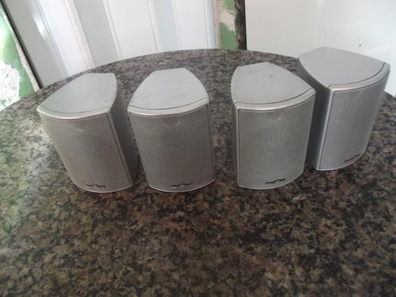 4 Mini Caixas De Som Britânia Funciona Ok