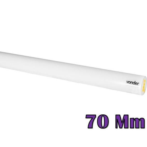 Tarugo De Nylon 70 Mm X 1 M Vonder Pa6 Barra Rockwell R100