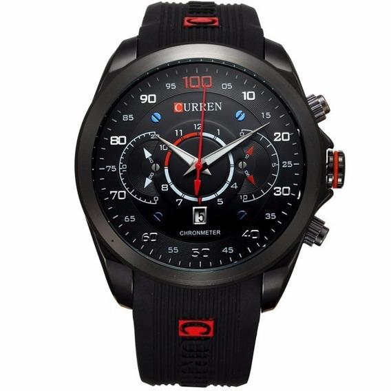 Relógio De Pulso Curren Sport M 8166 Masculino A Quartzo