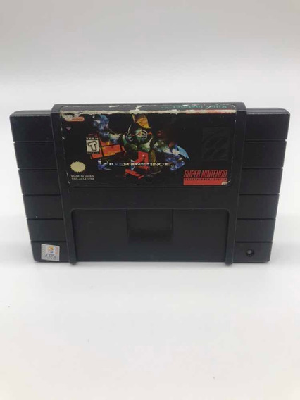 Killer Instinct Snes Super Nintendo Original Americano