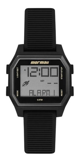 Relógio Digital Mormaii Mo3124aa/8p Preto Mo3124aa 3124 8p