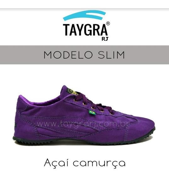 Taygra Slim Açai Camurça