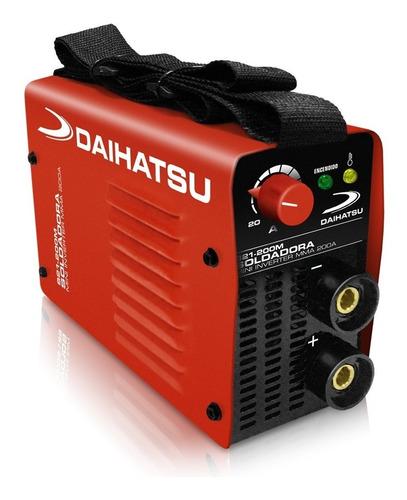 Soldadora Daihatsu S21-200m Mini Inverter Mma 200a Tig Lift