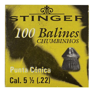 Chumbinho Stinger Md Ponta Conic 5.5mm 100un.