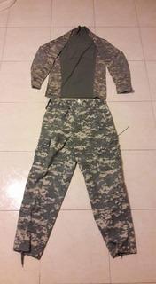 Uniforme Acu Tactico Pantalon Y Camisa De Combate Airsoft