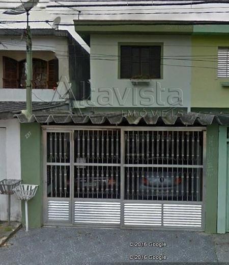 Sobrado Com 3 Dormitórios À Venda, 195 M² Por R$ 530.000,00 - Parque Oratório - Santo André/sp - So0064