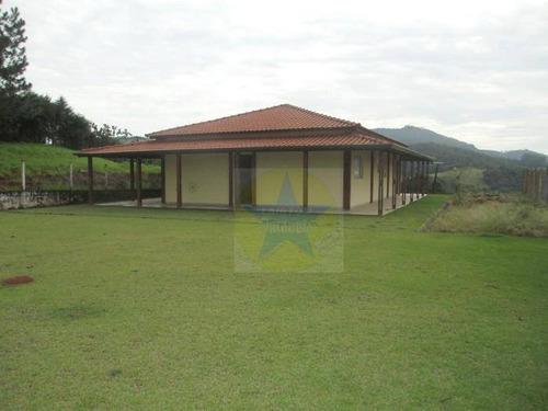 Chácara Com 3 Dormitórios À Venda, 1000 M² Por R$ 450 Mil- Nazaré Paulista Sp - Ch0734