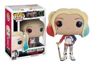 Funko Pop Harley Quinn 97 Suicide Squad Dc Baloo Toys