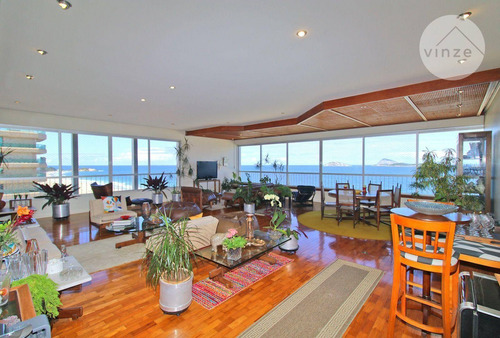 Imagem 1 de 30 de Apartamento  4 Quartos, 280 M² Melhor Localização De Ipanema - Ap0080