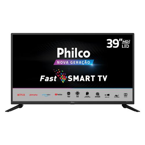 Imagem 1 de 6 de Smart Tv Philco 39'' Ptv39g65 Hd Led Wifi Netflix