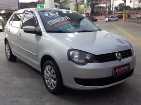 Polo Hatch 2013 Completo 1.6 8v Flex Top + Couro