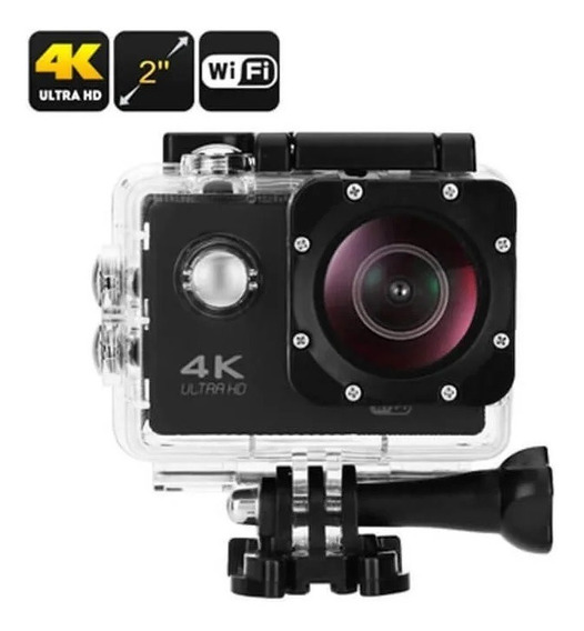 Action Go Cam Pro Câmera Sport Ultra 4k Full Hd Prova D