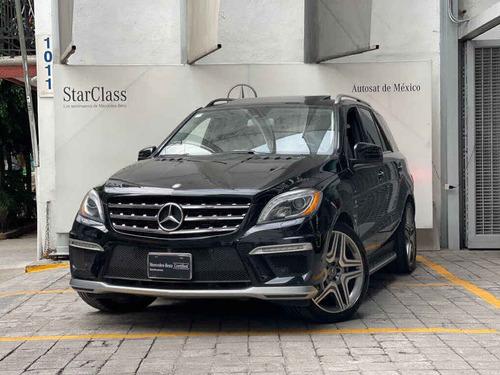 Imagen 1 de 15 de Mercedes-benz Clase M 2014 5p Ml 63 Amg V8/5.5/t Aut