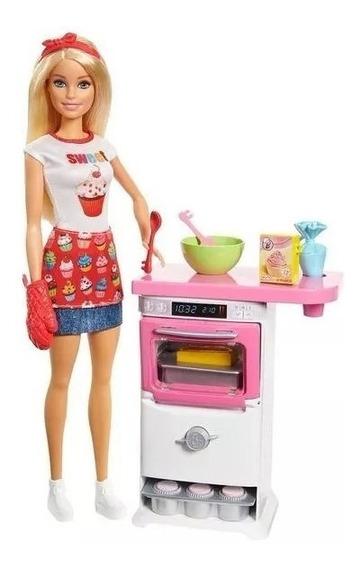 Boneca Barbie Chefe De Cozinha, Cozinheira