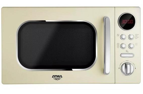 Microondas Vintage Atma Digital Md1820vn 20 Lts 700w
