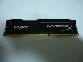 Memória Ddr3 Hyperx Fury 8gb 1600mhz Preta Funcionando 100%