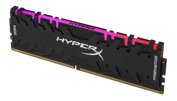 Memória Ddr4 8gb Pc3000 Hyperx Predator Rgb Kingston 1.35v