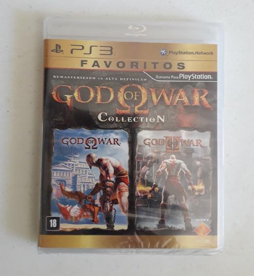 Jogo God Of War Collection Ps3 Novo Lacrado Original Sony Cd