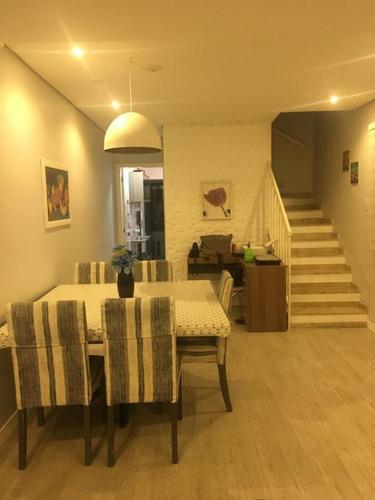Sobrado Em Condomínio Para Venda Em Taboão Da Serra, Parque Monte Alegre, 3 Dormitórios, 1 Suíte, 1 Banheiro, 2 Vagas - So0717_1-1827060