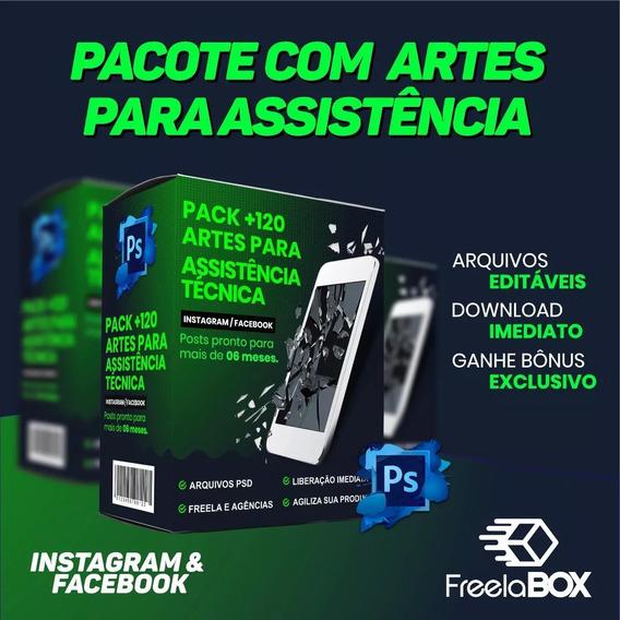 Assistência Técnica, Celular, Tablet, Pack Editavel Psd