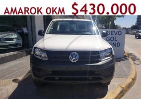 Okm Volkswagen Nueva Amarok 4x2 Trendline Linea 2017 Vw