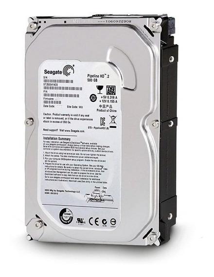 Hd Seagate 500gb Sata Dvr/desktop Garantia Lacrado Envio 24h