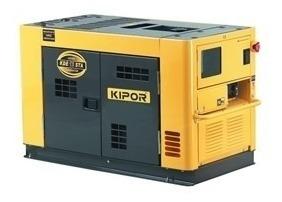 Generador Kipor Kde12staf Diesel 9.5 Kva 220v Avr 20hp