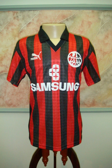 Camisa Futebol Eintracht Frankfurt Alemanha Puma Antiga 341