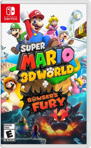Super Mario3d World + Bowsers Fury - Física - Pronta Entrega