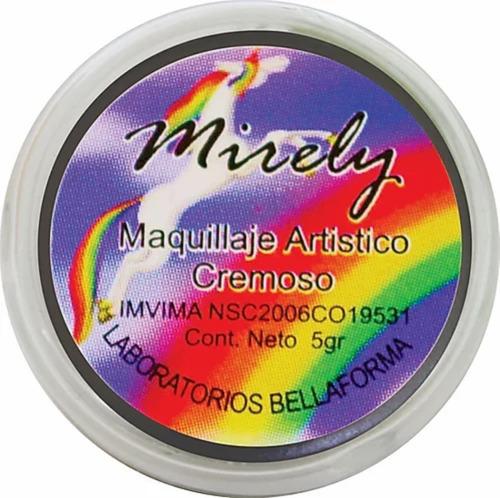 Imagen 1 de 7 de Pintucarita A Prueba De Agua Y Sudor Neon 5grs