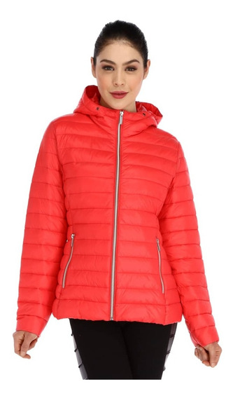 Chamarra Para Mujer Alysh Energy T50685 Color Coral Gr