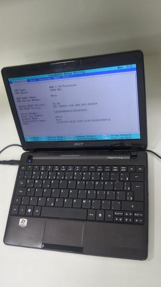 Netbook Funcionando Acer Aspire One P1ve6